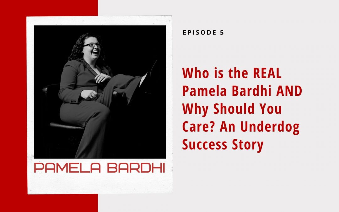 Your Host Pamela Bardhi Underdog Story - The Underdog Show
